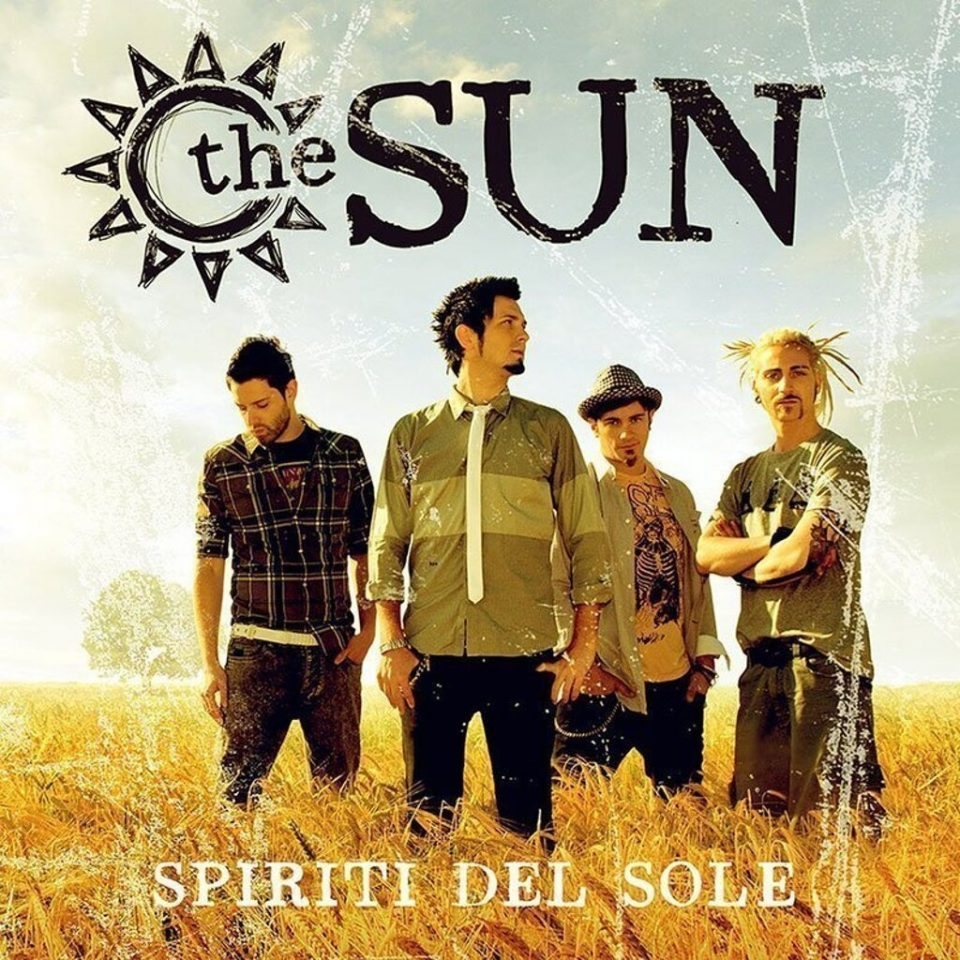 Spiriti del Sole album cover The Sun rock band