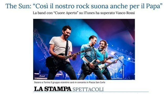 La Stampa intervista The Sun