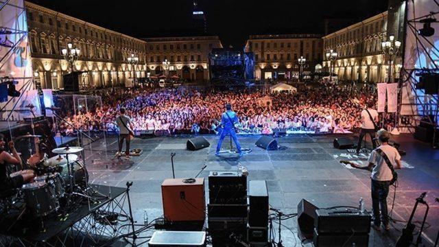 The Sun live Torino piazza San Carlo