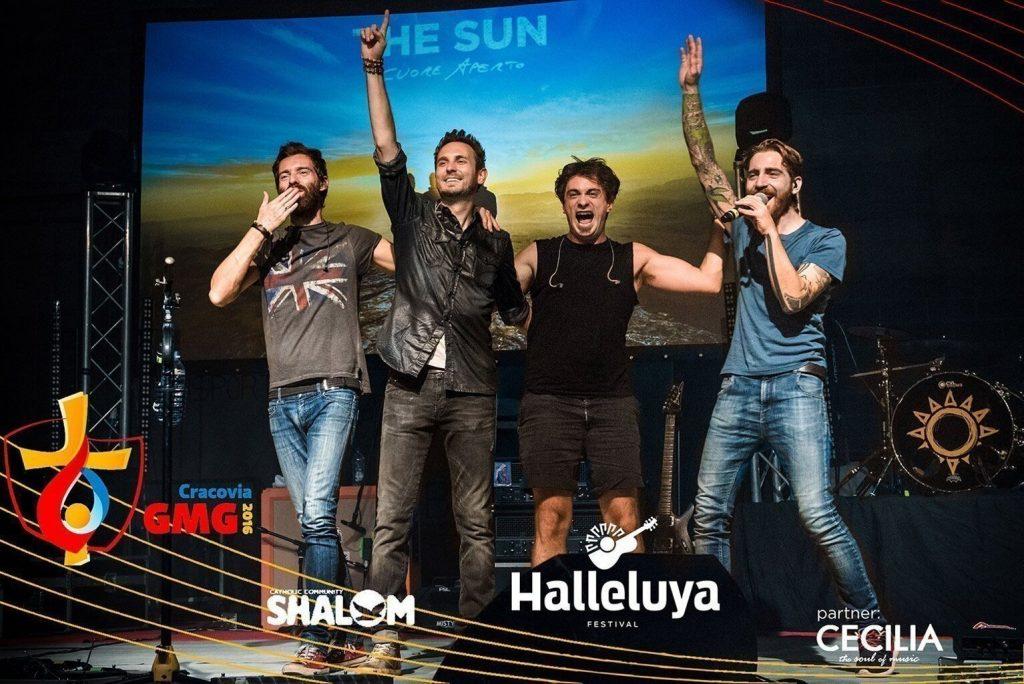 The Sun band alla GMG di Cracovia