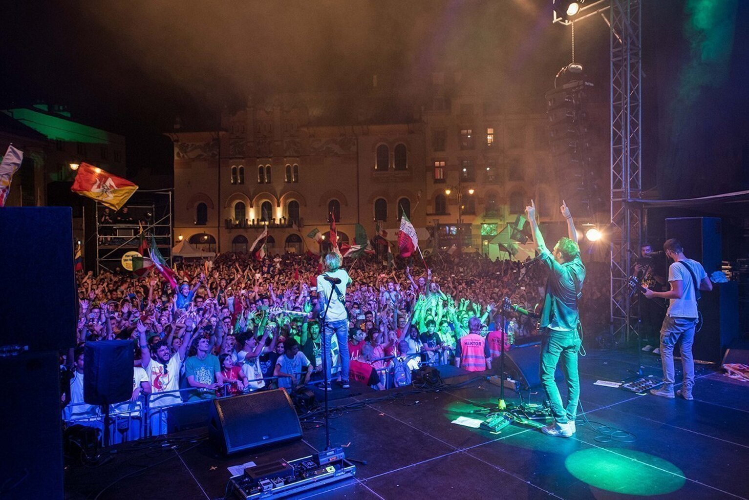 The Sun rock band live Cracovia