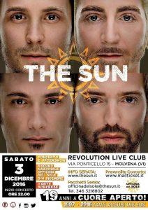 The Sun rock band concerto live