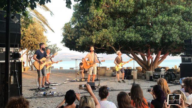 the sun badn rock cristiano live a cafarnao