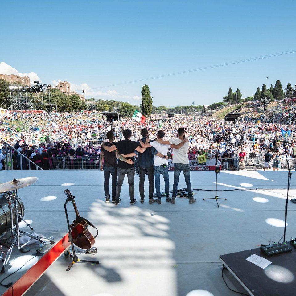 the-sun-rock-band-live-circo-massimo-roma