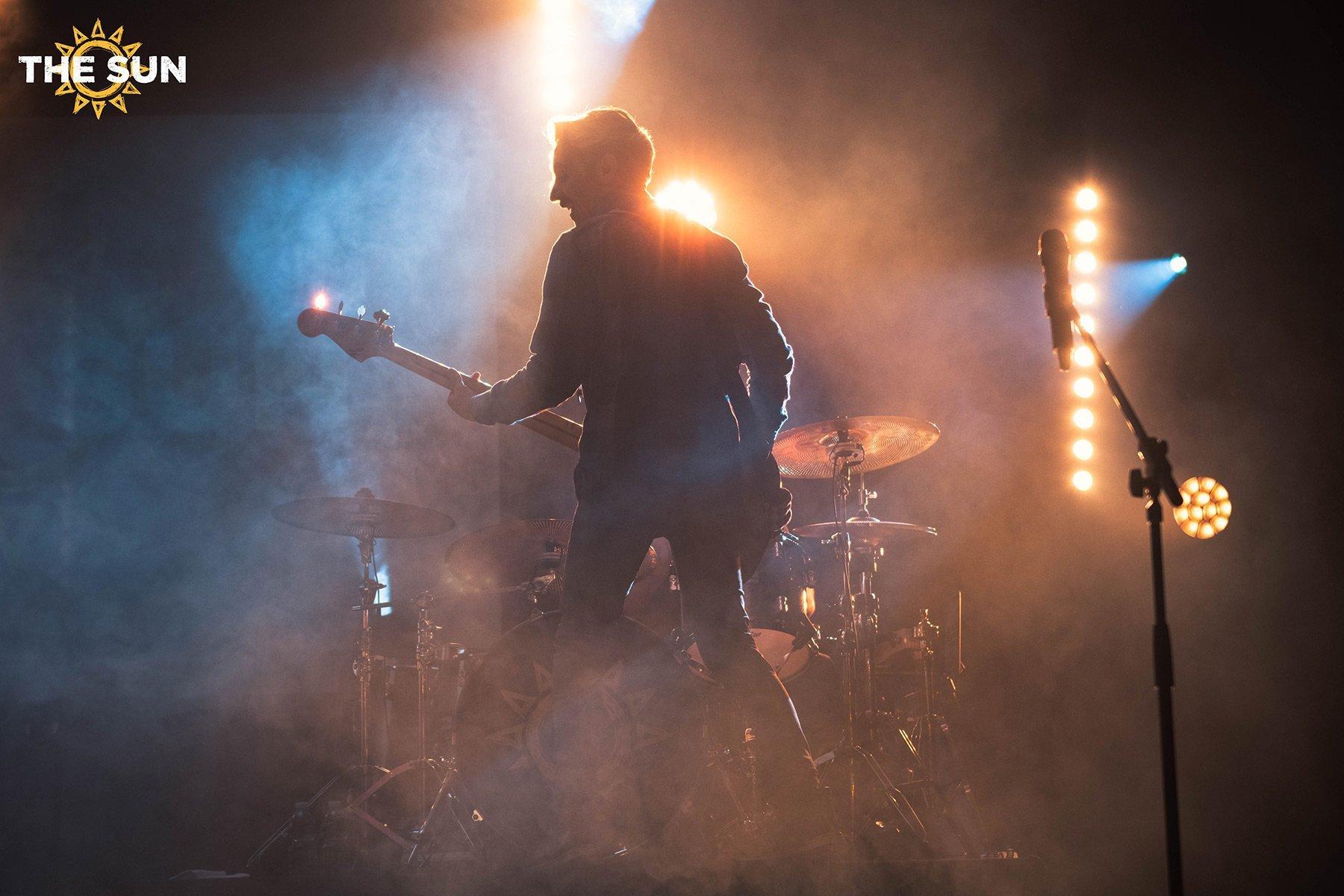 the sun rock band live fascia