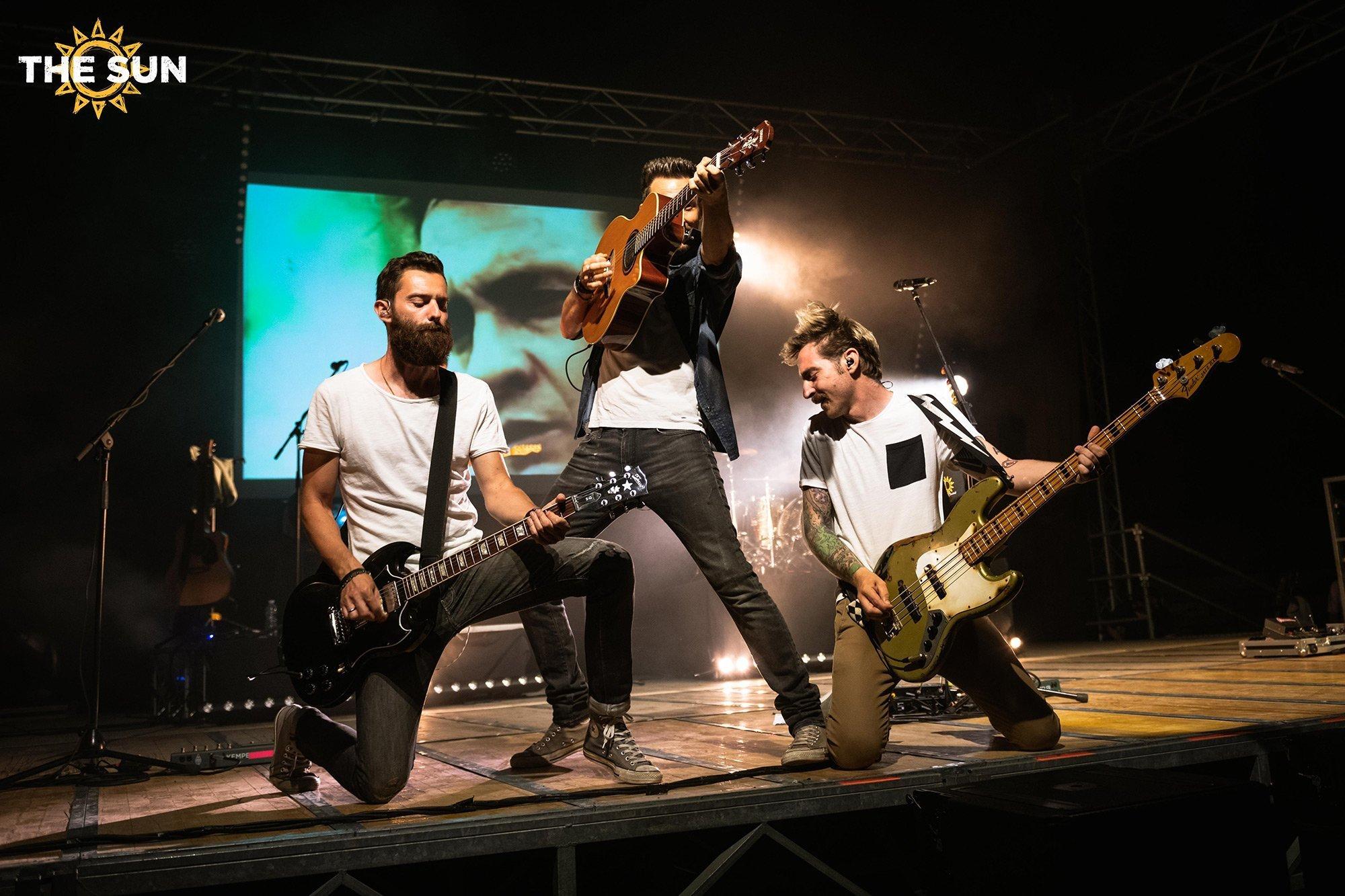 the sun rock band live villafranca padovana concerto