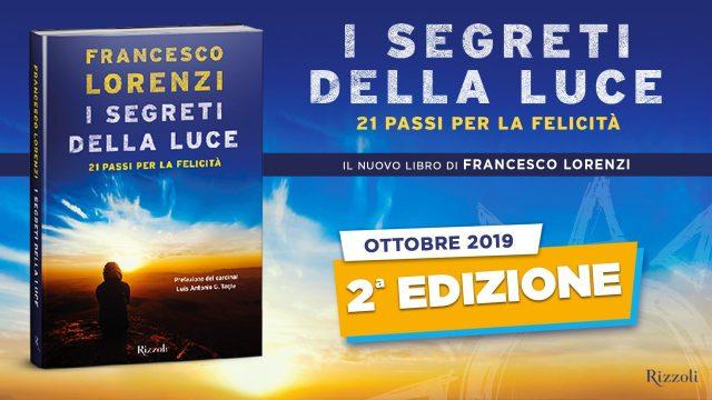 francesco lorenzi i segreti della luce 2 edizione
