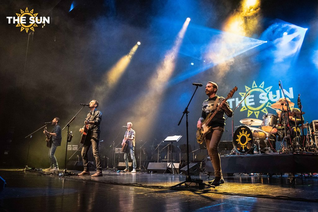 the sun rock band live vicenza teatro comunale ekuo concerto