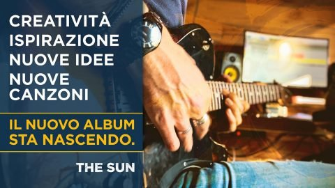 the sun rock band registrazioni nuovo album