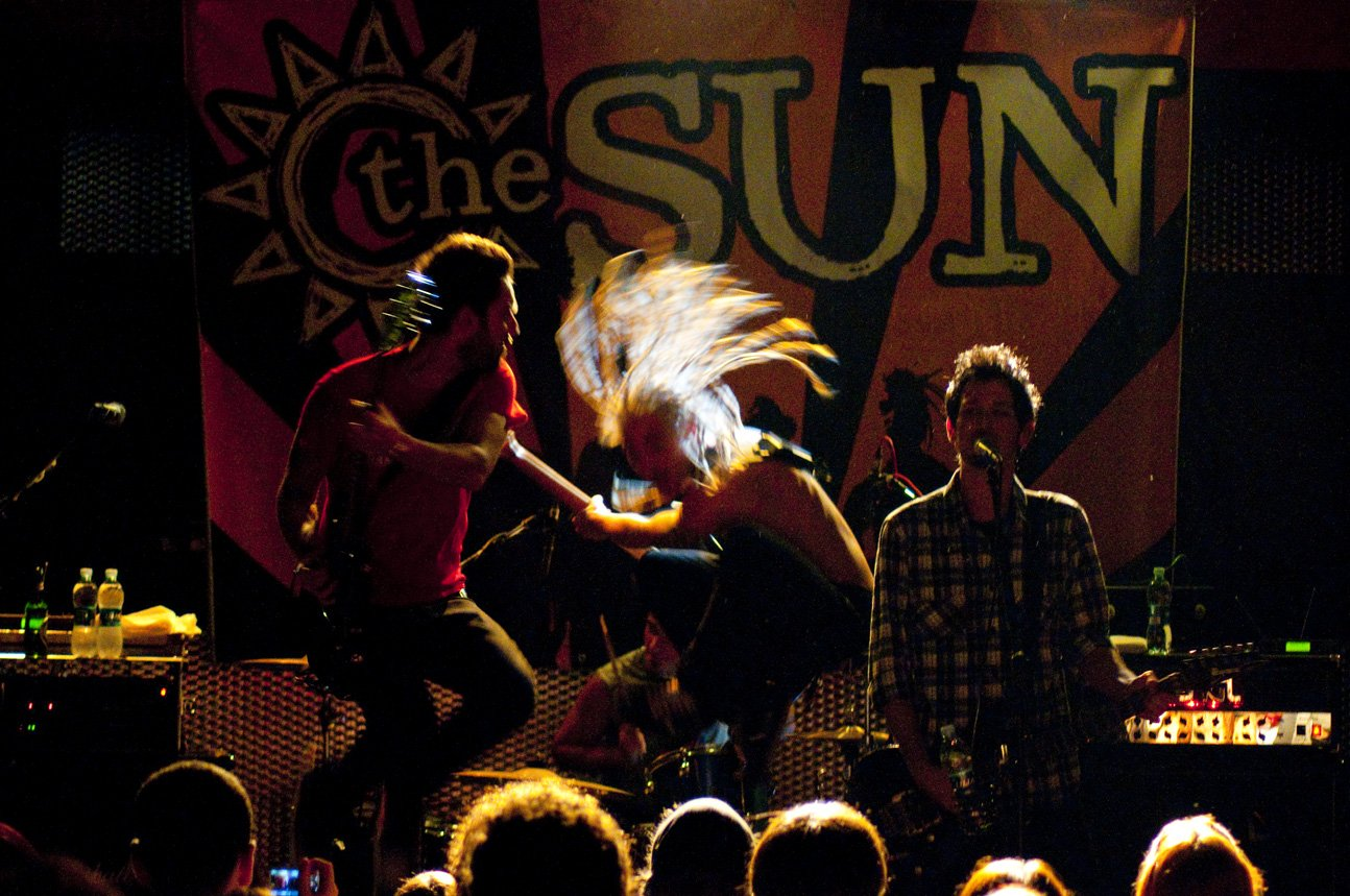 the sun rock band live