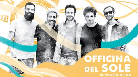 the sun rock band tessera officina del sole