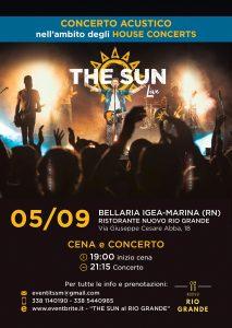 the sun rock band house concert bellaria